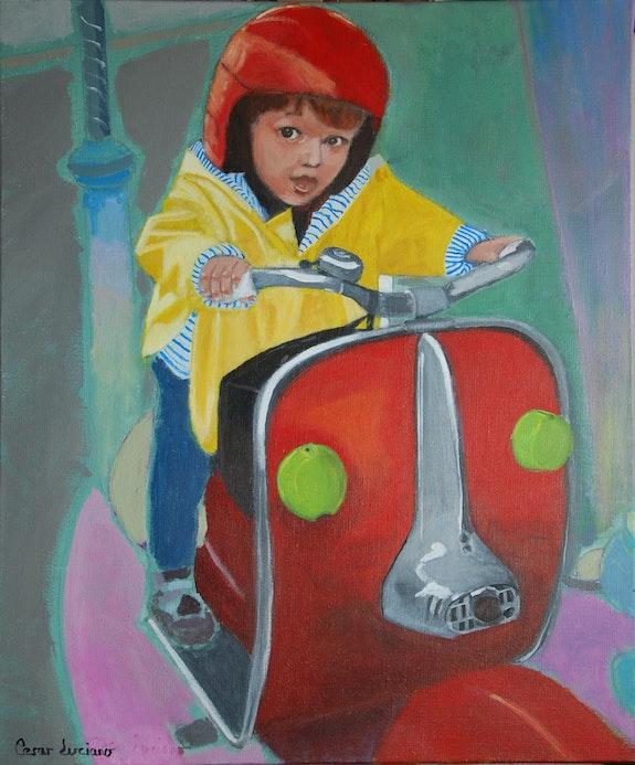 Jeux d'enfants : le manége. Cesar Luciano Cesar Luciano