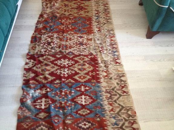 150 Year old hand-woven rugs. Rasim Nico