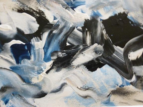 Composition abstraite. Jean-Paul Morvan Dit Van Mor Van Mor