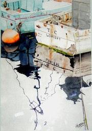 Bateaux à Groix.