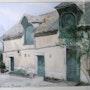 L'ancienne poste de Chartres de Bretagne. Dominique Thomas