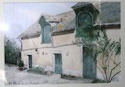 L'ancienne poste de Chartres de Bretagne.