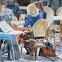 Pause déjeuner. Althéia - Martine Vinsot