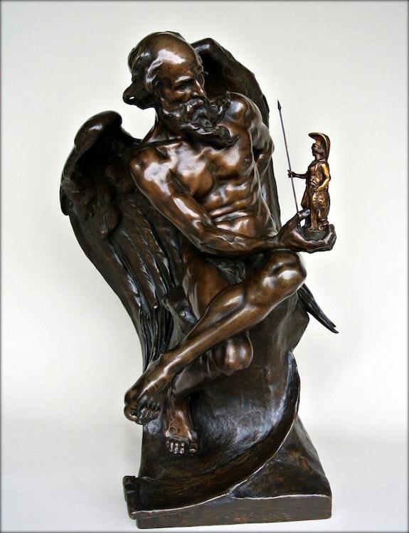 Chronos et la sagesse. Georges Bareau Marc Menzoyan Antiquités