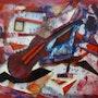 Collage expressionniste. Van Mor