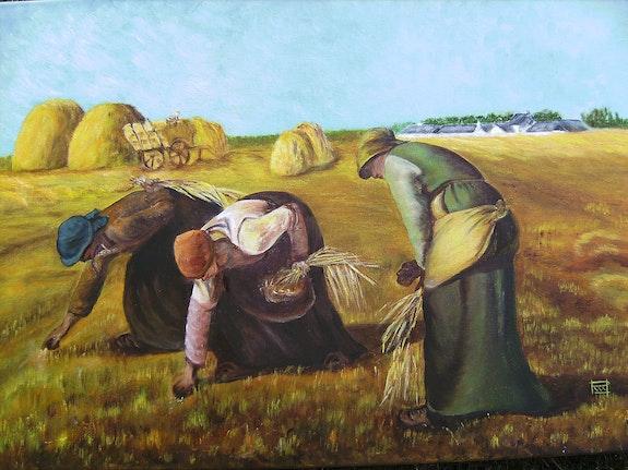 Les Glaneuses. Millet Mireille Ruffinoni