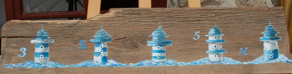 Les phares de St Malo. Elisabeth Sauvager Elisabeth Sauvager