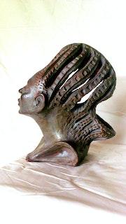 Mythe et légende, sculpture terre cuite collection. Sculpteur & Peintre