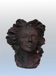 Hivers, terre cuite mythe et légende. Sculpteur & Peintre