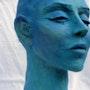 Pensée bleues. Sculpteur & Peintre