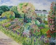 Le jardin de Giverny.
