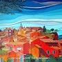 Roussillon. Alain Faure En Peinture