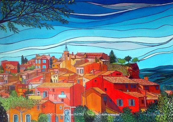 Roussillon. Alain Faure Alain Faure En Peinture