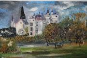 Le château de montreuil bellay (49).