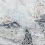 Sous la neige sur les quais de la Seine…. Ayala Andre