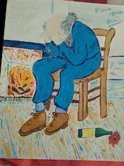 Le vieille homme de Van Gogh.
