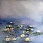 Nymphéas- En hommage à Claude Monet. Sunay Birik