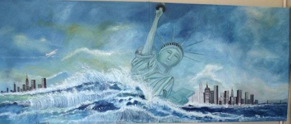 La grande vague de new york. Rouillard Patrick Patrick Rouillard