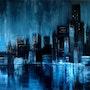 Crépuscule Bleu (Blue Dusk). Tracey Rowan