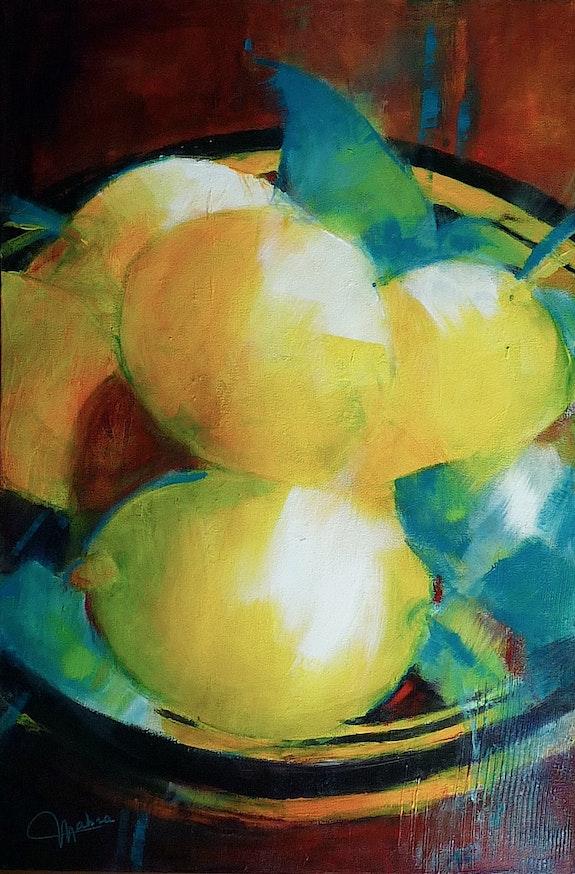 Les citrons. Martine Brandolin Martine Brandolin