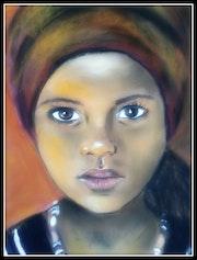 Petite éthiopienne.
