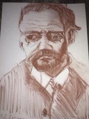 Portrait de cezanne 2012. Wallace Waide