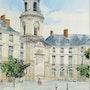 Rennes Place de la mairie. Dominique Thomas