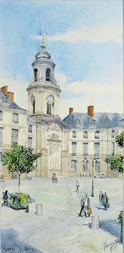 Rennes Place de la mairie.