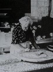 Emilie et les raviolis à la blette.