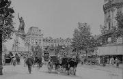 Place de la République en 1900.