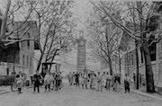 Les abattoirs de la Villette en 1900.