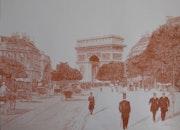 L'avenue du Bois de Boulogne en 1903.