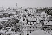 Les ponts de Paris en 1900. Gérard Baty