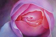 Coeur de rose 60x85.