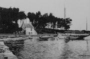 L'île aux Moines - Marée basse. Gérard Baty