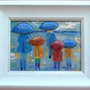 Promenade sous la pluie. Martine Levillain