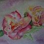 Au temps des fleurs. Ghislaine Phelut