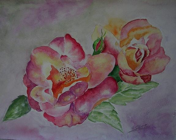 Au temps des fleurs. Ghislaine Phelut-Sanchez Ghislaine Phelut