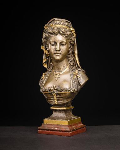 Bust «a Provencal Woman» From E. A. Aizelin.  Arkia