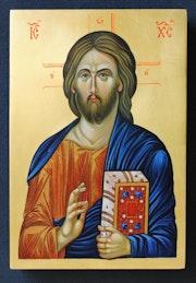 Jesus Christ Pantocrator. Marchela Dimitrova