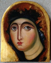 "Virgin Mary [Mother of God] Theotokos ""Agiosortissa"". Marchela Dimitrova"