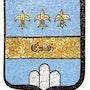 Ecu des Emaldi (Famille Noble Italienne) Ravenna. Atelier De Mosaïque d'art Urschel l'artisan