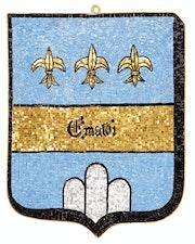 Ecu des Emaldi (Famille Noble Italienne) Ravenna.