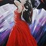 La danseuse rouge. Marie Colin