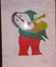 Joueur de flute. Clot