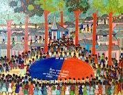 Reunion Femmes d'Haiti En Vue de Trouver Une Solution pour Sauver Haiti #1mfn. Myriam Nader Haitian Art Gallery- Ny