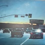 Driving home in L. A.. Donald Joy
