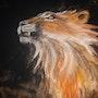 Sa Majesté King Lion. Mylène Caïe-Bertin