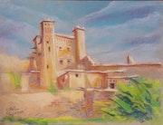 Moroccan kasbah. El Mehdi Sabil