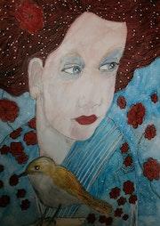 La bambina e l'uccello.. Anne. B